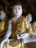 Βουδιστικός ναός Buddhas κοντά σε Dawei, Βιρμανία (το Μιανμάρ) Στοκ Εικόνα
