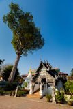 Βουδιστικός ναός Chedi Luang Wat στοκ εικόνες με δικαίωμα ελεύθερης χρήσης