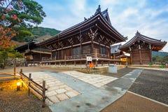 Βουδιστικός ναός kiyomizu-Dera στο Κιότο, Ιαπωνία Στοκ Εικόνες