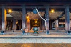 Βουδιστικός ναός kiyomizu-Dera στο Κιότο, Ιαπωνία Στοκ εικόνα με δικαίωμα ελεύθερης χρήσης