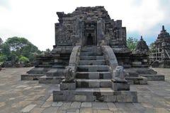 Βουδιστικός ναός Lumbung Candi στοκ εικόνα με δικαίωμα ελεύθερης χρήσης