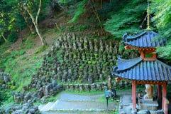 Βουδιστικός ναός Nenbutsu Otagi, Κιότο, Ιαπωνία Στοκ Εικόνα