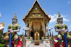 Βουδιστικός ναός Plai Laem στο νησί Samui Στοκ φωτογραφίες με δικαίωμα ελεύθερης χρήσης