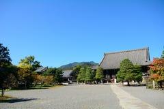 Βουδιστικός ναός Seyryo, Κιότο, Ιαπωνία στοκ φωτογραφίες με δικαίωμα ελεύθερης χρήσης