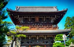 Βουδιστικός ναός Seyryo, Κιότο, Ιαπωνία στοκ εικόνα