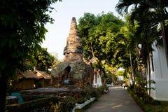 Βουδιστικός ναός Umongmahatherachan Wat Στοκ Φωτογραφίες
