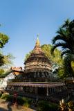 Βουδιστικός ναός Umongmahatherachan Wat Στοκ εικόνα με δικαίωμα ελεύθερης χρήσης
