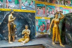 Βουδιστικός ναός Weherahena, Σρι Λάνκα Στοκ φωτογραφία με δικαίωμα ελεύθερης χρήσης