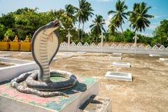 Βουδιστικός ναός Weherahena, Σρι Λάνκα Στοκ Εικόνες