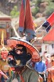 Βουδιστικός χορευτής μασκών Στοκ Φωτογραφία