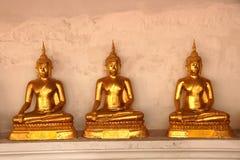 βουδιστικός χρυσός ναός του Βούδα στοκ φωτογραφία