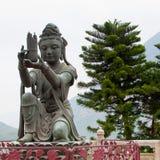 Βουδιστικό άγαλμα Deva Στοκ εικόνα με δικαίωμα ελεύθερης χρήσης