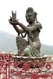 Βουδιστικό άγαλμα Deva Στοκ Εικόνες