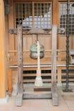 Βουδιστικό κουδούνι ναών Στοκ Εικόνες