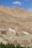 Βουδιστικό μοναστήρι Basgo σε Ladakh, Ινδία Στοκ εικόνα με δικαίωμα ελεύθερης χρήσης