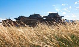 Βουδιστικό μοναστήρι Erdene Zu Στοκ Φωτογραφίες