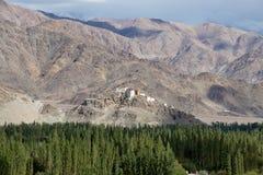 Βουδιστικό μοναστήρι Matho σε Ladakh, Ινδία, Στοκ Φωτογραφίες
