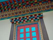 Βουδιστικό παράθυρο Στοκ Φωτογραφίες