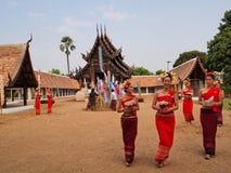 Βουδιστικό Σάββατο στοκ φωτογραφίες με δικαίωμα ελεύθερης χρήσης