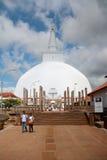 Βουδιστικό stupa, Σρι Λάνκα Στοκ Εικόνες