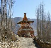Βουδιστικό stupa στο ανώτερο μάστανγκ, Νεπάλ Στοκ φωτογραφίες με δικαίωμα ελεύθερης χρήσης