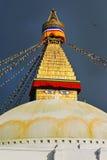 Βουδιστικό stupa Boudhanath. Κατμαντού, Νεπάλ Στοκ εικόνα με δικαίωμα ελεύθερης χρήσης