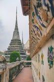Βουδιστικό stupa Wat Arun, Μπανγκόκ, Ταϊλάνδη Στοκ εικόνα με δικαίωμα ελεύθερης χρήσης