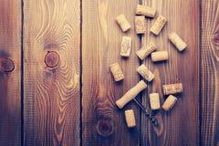 βουλώνει το κρασί ανοιχ&ta Στοκ Εικόνα