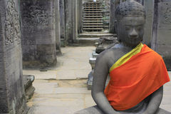 Βούδας ειρηνικός Στοκ Εικόνα