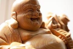 Βούδας ξύλινος στοκ φωτογραφίες με δικαίωμα ελεύθερης χρήσης