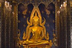 Βούδας χρυσός Ταϊλανδός Στοκ Εικόνες