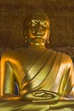 Βούδας χρυσός Στοκ Φωτογραφίες
