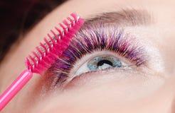 Βούρτσα για τα eyelashes στοκ φωτογραφίες με δικαίωμα ελεύθερης χρήσης