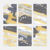 Βούρτσα δεικτών και κραγιονιών με το watercolor ελεύθερη απεικόνιση δικαιώματος