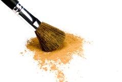 Βούρτσα και σκόνη Στοκ εικόνες με δικαίωμα ελεύθερης χρήσης