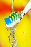 βούρτσα οδοντική Στοκ Φωτογραφία