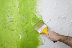 Βούρτσα χρωμάτων Στοκ εικόνα με δικαίωμα ελεύθερης χρήσης