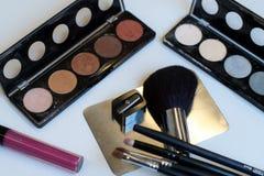 Βούρτσες και εργαλεία Makeup Στοκ φωτογραφία με δικαίωμα ελεύθερης χρήσης