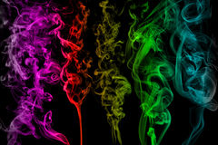 Βούρτσες καπνού στοκ εικόνες με δικαίωμα ελεύθερης χρήσης