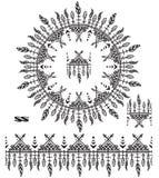 Βούρτσες σχεδίων με τα φτερά Στοκ φωτογραφία με δικαίωμα ελεύθερης χρήσης