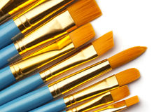 Βούρτσες χρωμάτων Στοκ Εικόνα