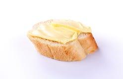 Βούτυρο με το ψωμί Στοκ Εικόνες