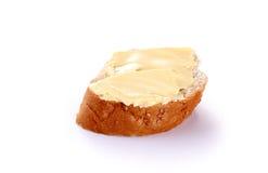 Βούτυρο με το ψωμί Στοκ Εικόνα