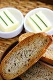 βούτυρο ψωμιού Στοκ εικόνες με δικαίωμα ελεύθερης χρήσης