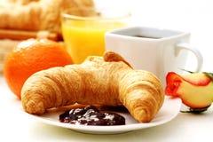 βούτυρο croissant Στοκ φωτογραφία με δικαίωμα ελεύθερης χρήσης