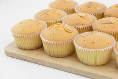 Βούτυρο cupcake Στοκ Εικόνες