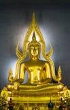 Βούδας, βουδιστικό άγαλμα, Μπανγκόκ, Ταϊλάνδη στοκ φωτογραφίες με δικαίωμα ελεύθερης χρήσης
