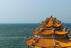 Βούδας και θάλασσα Στοκ εικόνα με δικαίωμα ελεύθερης χρήσης
