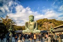 Βούδας μεγάλη Ιαπωνία Στοκ φωτογραφία με δικαίωμα ελεύθερης χρήσης