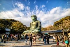 Βούδας μεγάλη Ιαπωνία Στοκ Εικόνα